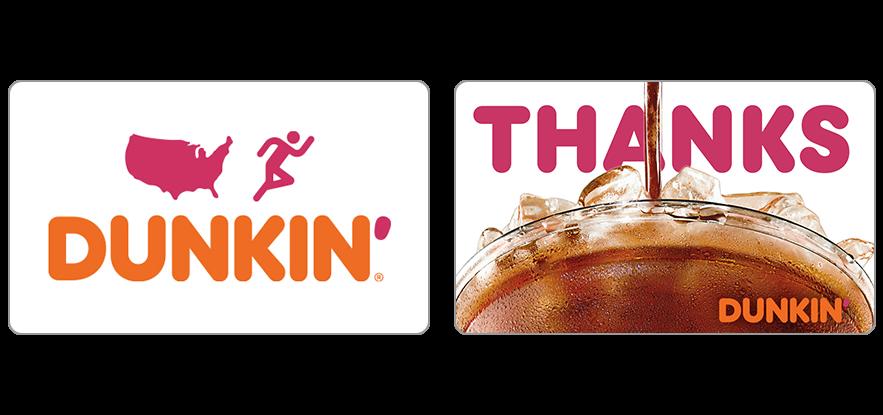 dunkin donuts virtual gift card